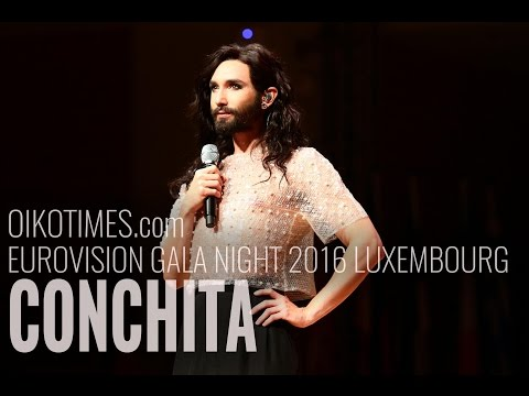 oikotimes.com: Conchita at Eurovision Gala Night 2016 in Luxembourg