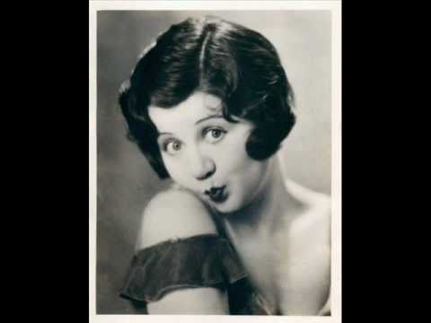 Mae Questel (the voice of Betty Boop) - Practising the piano