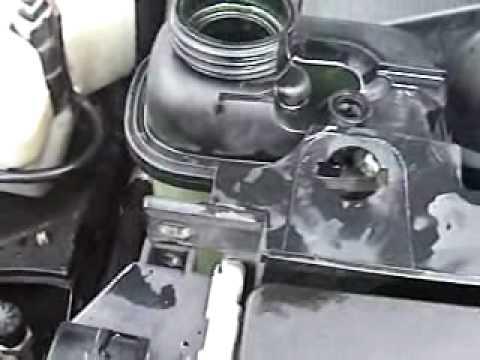 E36 328is Coolant Level Sensor Replacement.wmv