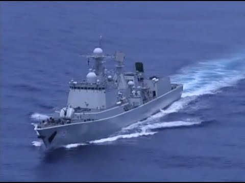 Seven Chinese Warships Participating in Sino-Russian Joint Sea-2015 (II) Drill