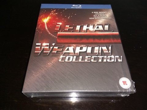 Lethal Weapon 4 Movies 5 Blu Ray Set