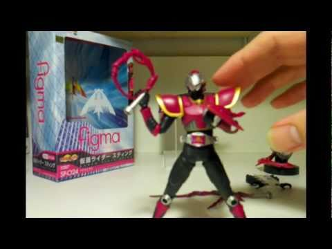 Max Factory figma Kamen Rider Sting / Raia 2nd Opinion Review