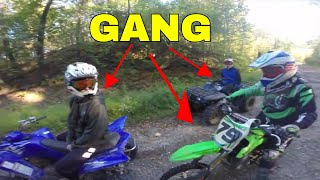 Dirt Bike Gang: Riding With The Moto Gang