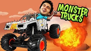 MONSTER TRUCK RC CHALLENGE! (RC Truck Adventures)