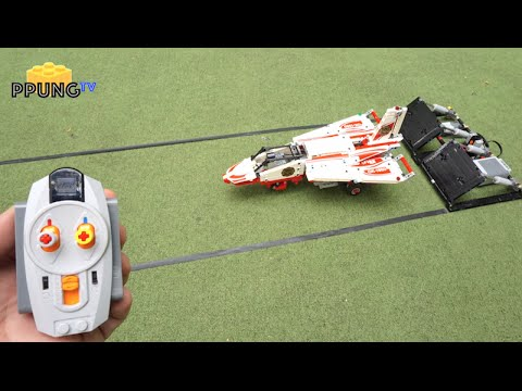 LEGO RC JET PLANE - Technic 42040 B Model By 뿡대디