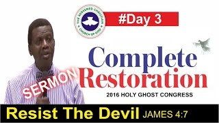 Pastor E.A Adeboye Sermon @ RCCG 2016 HOLY GHOST CONGRESS #Day 3