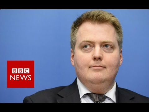 Iceland's PM Sigmundur Gunnlaugson resigns - BBC News