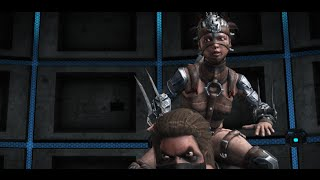 Mortal Kombat X - All Characters Swapping Intros with Erron Black
