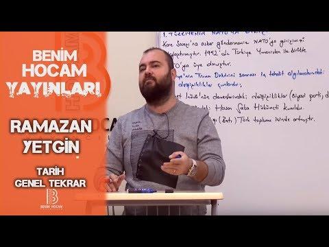 24) I. TBMM ve Ayaklanmalar ve Sevr Barış Antlaşması - Ramazan YETGİN (2018)