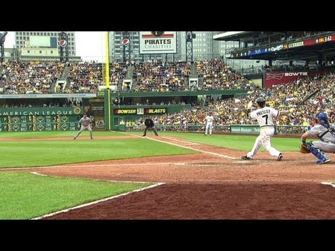 LAD@PIT: Presley drills a long solo shot to right