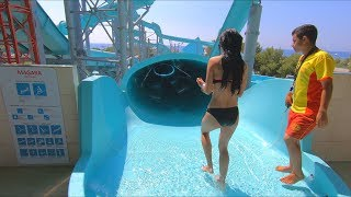 Water Slides at Dolusu Park in Kemer Antalya