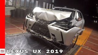 Lexus UX Safety & Crash Test 2019
