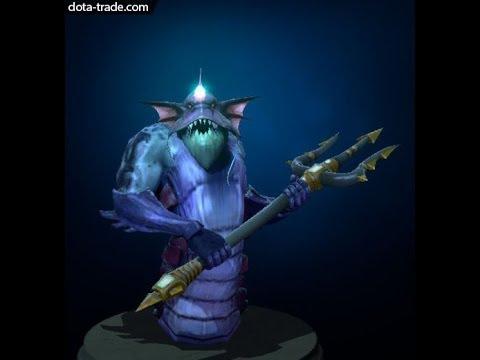 Trident of the Sea Stalker Slardar weapon preview Dota 2