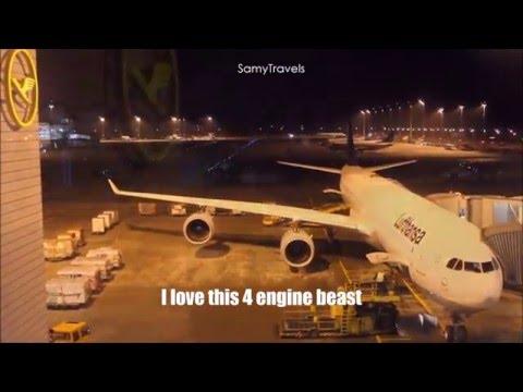 Lufthansa A340-600 experience  | Munich-Dubai | Economy | SamyTravels