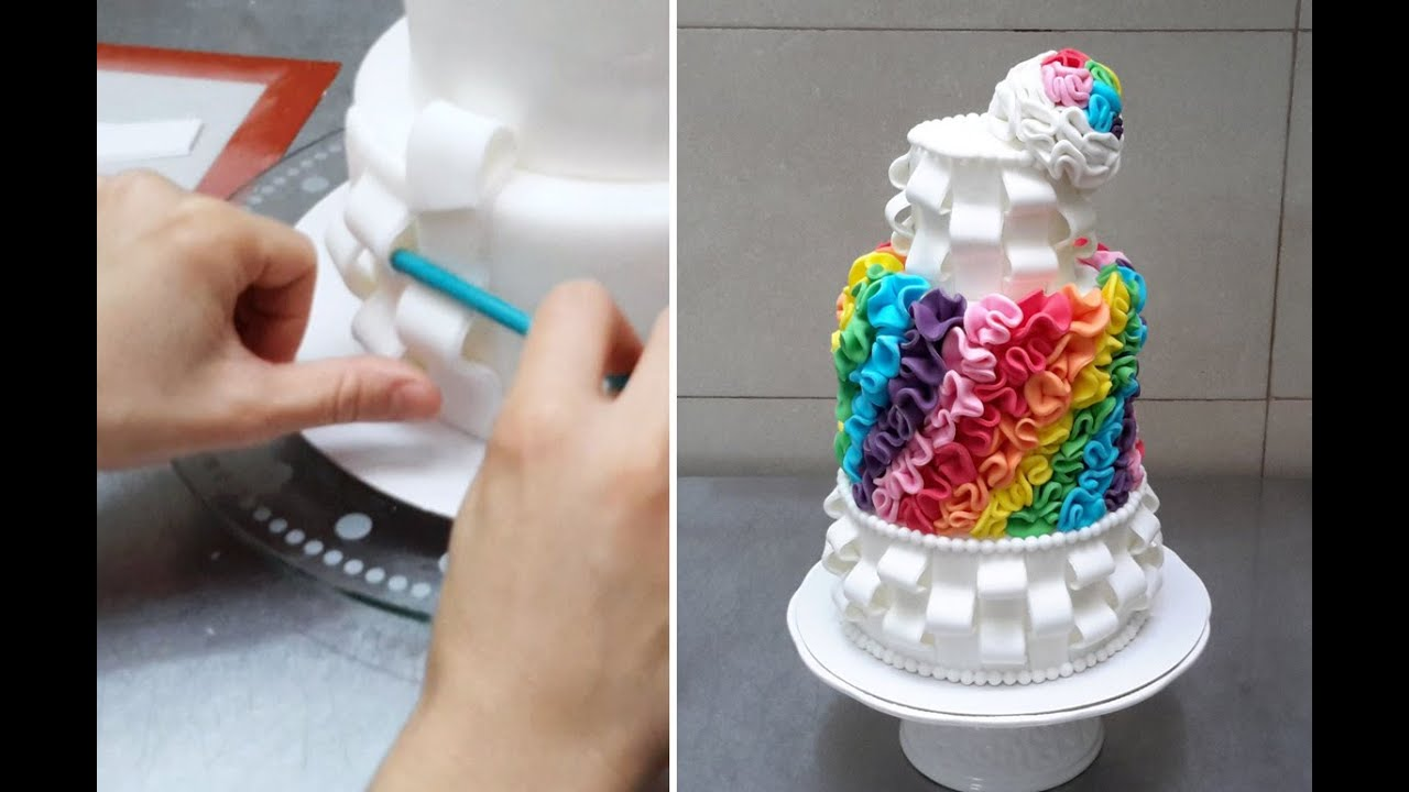 How To Make An Ombre Cake