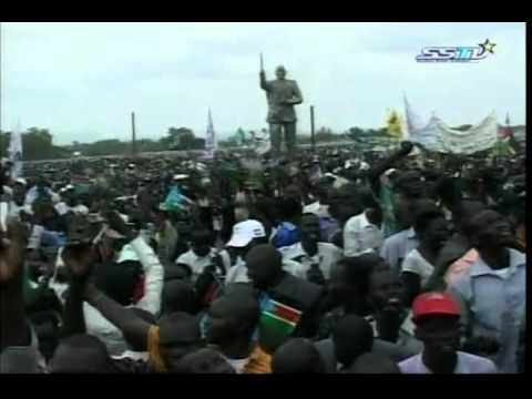 Salva Kiir Swearing as President of South Sudan