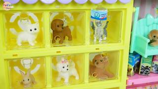 Toy Pet Shop for Barbie dolls Toko hewan peliharaan untuk boneka Barbie Loja de animais