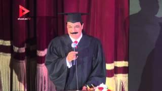 """عبدالله الرويشد بعد منحه الدكتوراه الفخرية:  """"وصيتي لأهلي يدفنوني في مصر"""""""