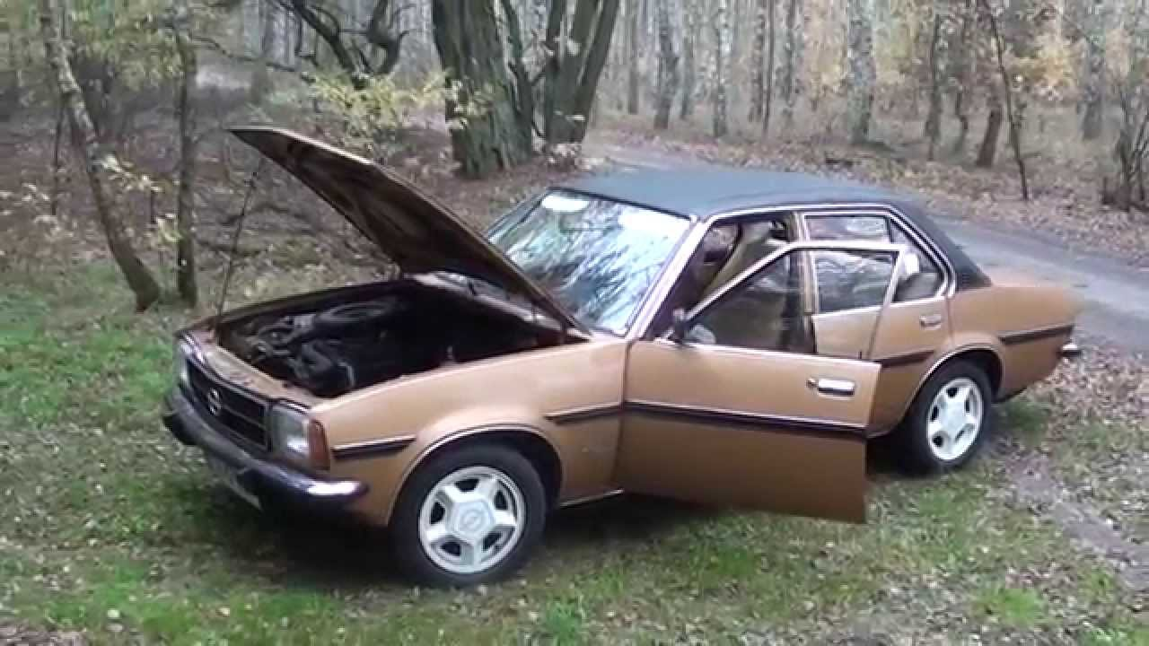 opel ascona b berlina 2 0 sr youtube. Black Bedroom Furniture Sets. Home Design Ideas