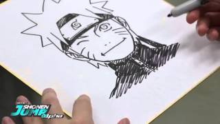 Famous mangaka draw Tite Kubo,Masashi Kishimoto,Takeshi Obata,Eiichiro Oda