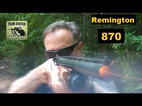 Remington 870 Pump Shotgun