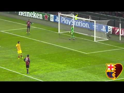 Milan Barcelona Highlights HD 22.10.2013