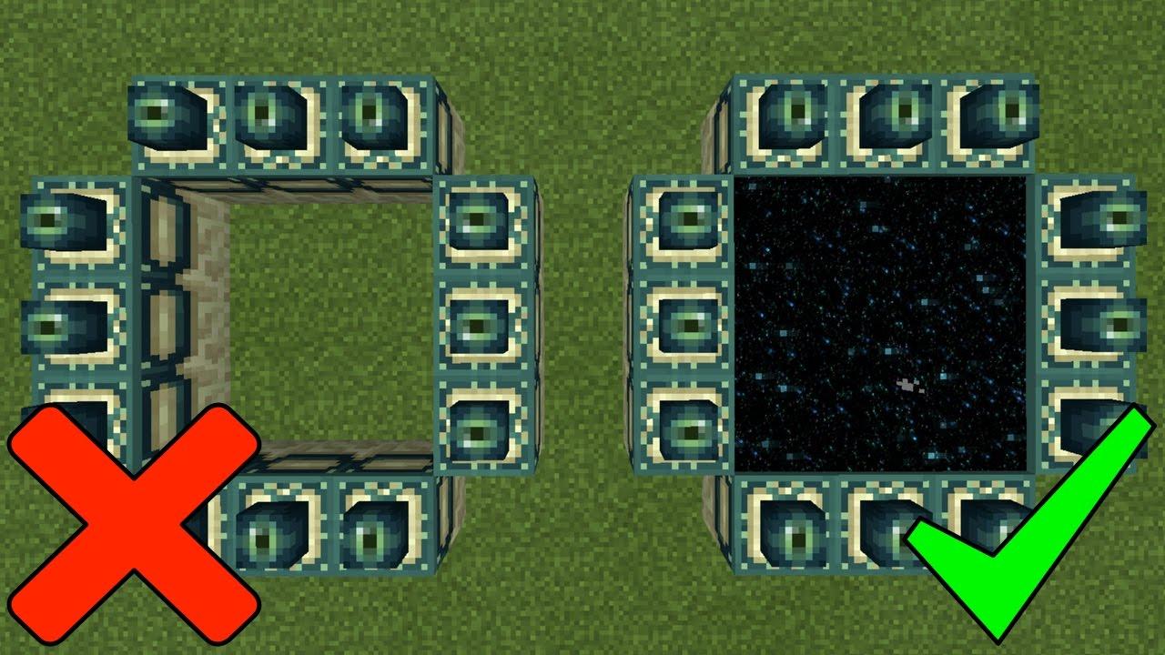 Как minecraft pocket edition сделать портал