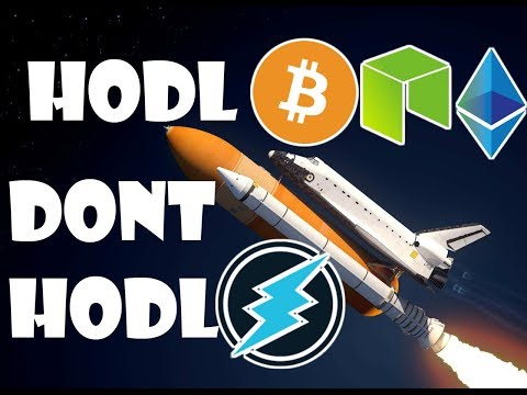 HODL Bitcoin NEO & Ethereum Because | DON'T HODL Electroneum Because