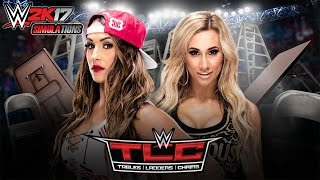WWE 2K17 - TLC 2016: Nikki Bella vs Carmella