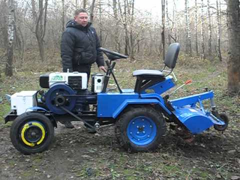 мини трактор из мотоблока форте 135
