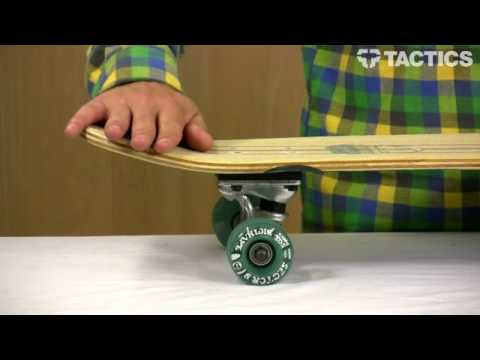 Sector 9 Ours Bamboo Complete Longboard review - Tactics.com