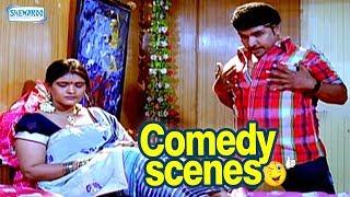 Brindavana - Brundavana Comedy Scenes - Kannada Comedy - Darshan Comedy