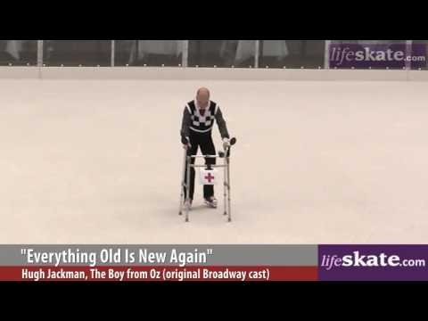 Scott Hamilton interview and skate at Rockefeller Rink Video