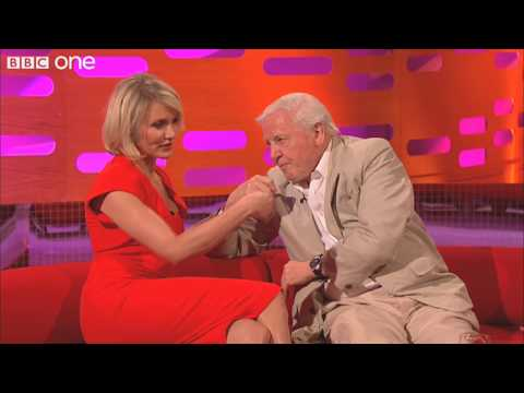 Cameron Diaz flirts with Sir David Attenborough - The Graham Norton Show - Series 7 - BBC One