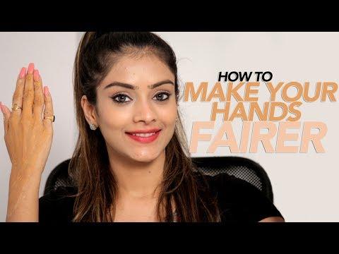 How To Make Hands Fairer | Skincare Tutorial | Makeup Tutorial | DIY Home remedies | Foxy Makeup
