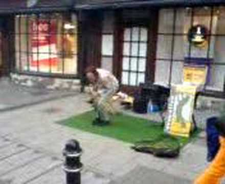 Weird Music video made in Canterbury Saxophone player! Video