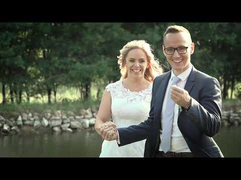 Kriszti és Bálint romantikus-bulis esküvő videó