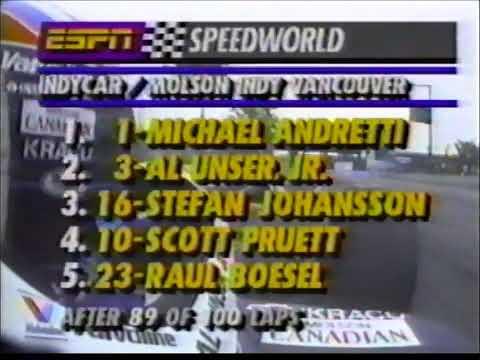 VITORIA ESPETACULAR de Michael Andretti no GP de Vancouver de 1992