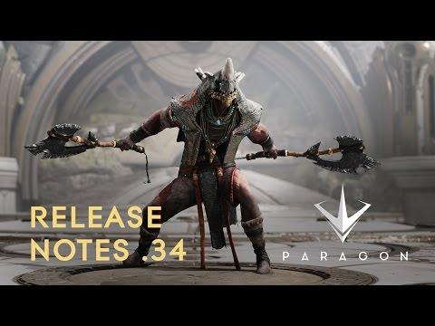 Paragon - Release Notes .34