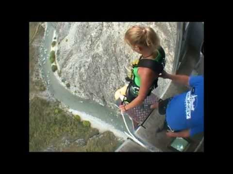 Girls Bungee Jumping Compilation