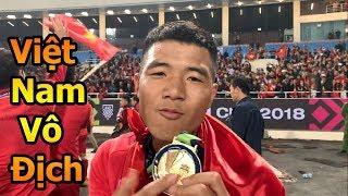 Thử Thách Bóng Đá ăn mừng cùng Quang Hải , Hà Đức Chinh , Đặng Văn Lâm  ĐT Việt Nam vô địch AFF CUP