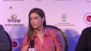 Hazal Kaya famous Zindagi Channel (Feriha ) Turkish Delegation At Jio MAMI 18th Mumbai Film Festiva