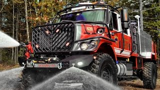 Bulldog 4x4 firetruck: Production extreme brush truck