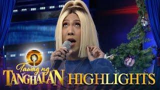 """Tawag Ng Tanghalan: Vice sings a kid's version of """"Where Do Broken Hearts Go?"""""""
