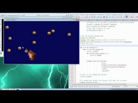 Пишем игры на Python.