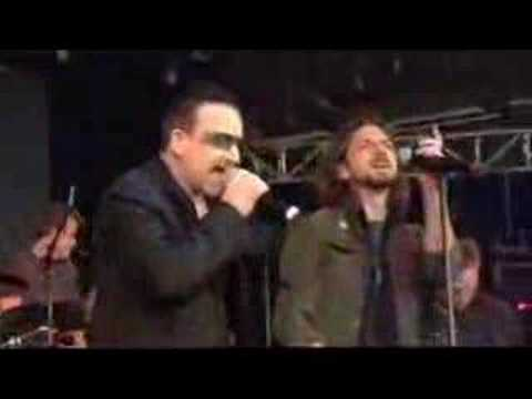 Pearl Jam & U2 as UJam - Make Poverty History Concert Music Videos