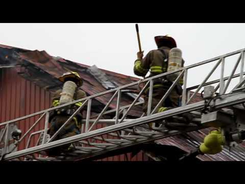 LC BOX Alarm 43 Leacock Twp. 2 Alarm Barn Fire. PUMPFIRE.com