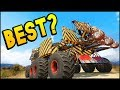 Crossout - WHICH FORTUNE BUILD IS THE BEST? (Crossout Gameplay)