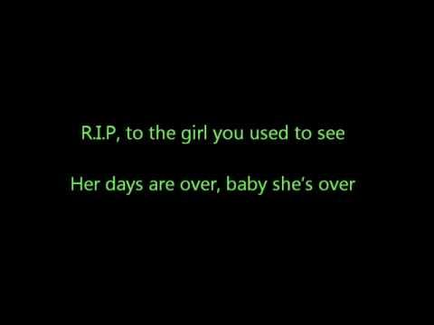 R.i.p - Rita Ora Lyrics On Screen video
