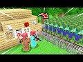 FAKİR'in EN GÜVENLİ EVİ VS ZOMBİ KIYAMETİ! 😱 - Minecraft